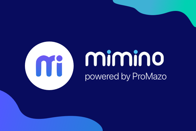 Mimino logo and link to site
